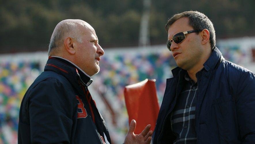 Irakli Abuseridze, dont l'élection à la présidence le 30 décembre 2020 n'a toujours pas été validée