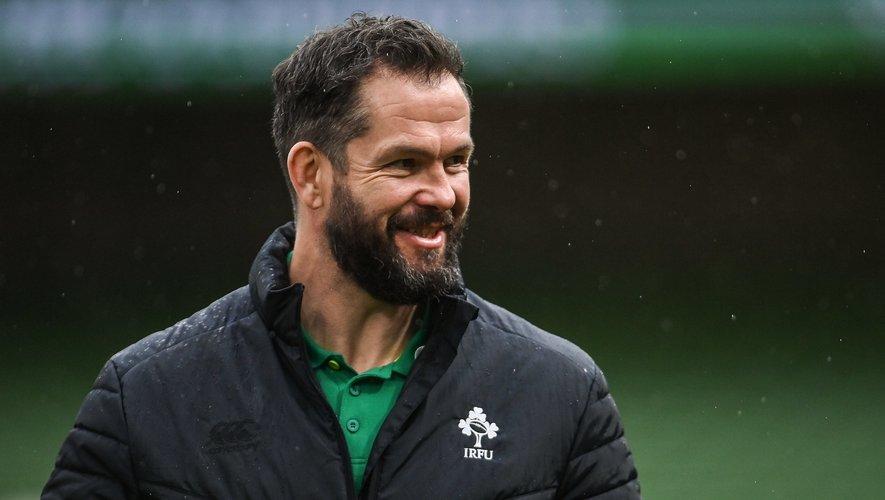 Andy Farrell (Sélectionneur de l'équipe d'Irlande)