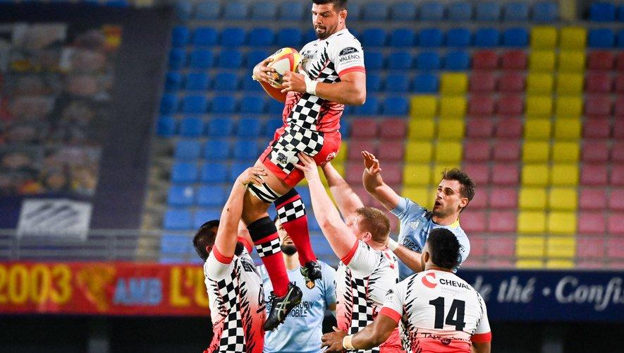 Après le point de bonus ramené de chez les Catalans, les Damiers de John Adriann Groenewald ont pour objectif la victoire pour garder une once d'espoir pour le maintien. Photo Icon Sport