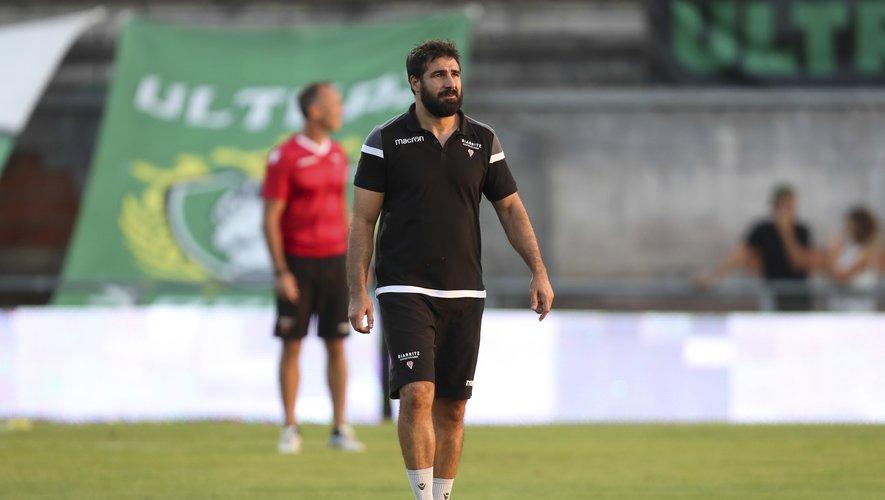 L'entraîneur Fabien Fortassin