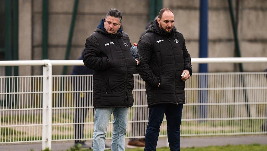Morgan Champagne et Mathieu Bonello