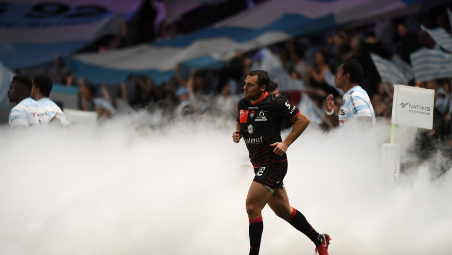 Lionel Beauxis of Lyon during the Top 14 match between Racing 92 and Lyon OU at U Arena on October 6, 2018 in Nanterre, France. (Photo by Anthony Dibon/Icon Sport)