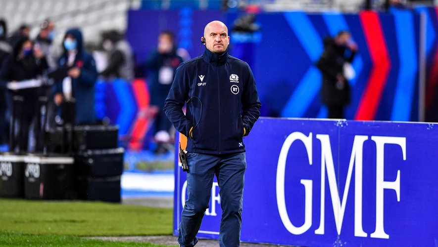 Gregor TOWNSEND head coach of Scotland ahead of the RBS Six Nations match between France and Scotland at Stade de France on March 26, 2021 in Paris, France. (Photo by Baptiste Fernandez/Icon Sport) - Gregor TOWNSEND - Stade de France - Paris (France)