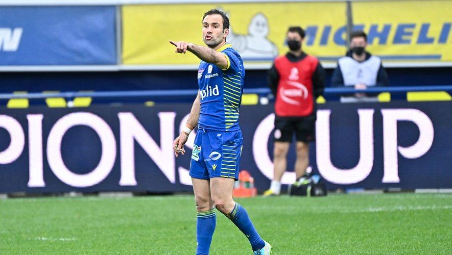 Morgan Parra (Clermont), face à Toulouse.