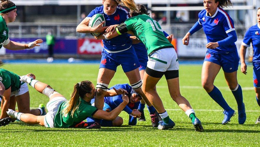 Les Bleues de Marjorie Mayans attendent avec impatience la confrontation contre l'Angleterre, qui devrait leur offrir un match d'un tout autre niveau. Photo Icon Sport