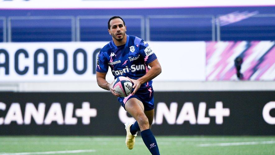 Face à Pau, les trois-quarts parisiens, à l'image de Kylan Hamdaoui, ont été incisifs.