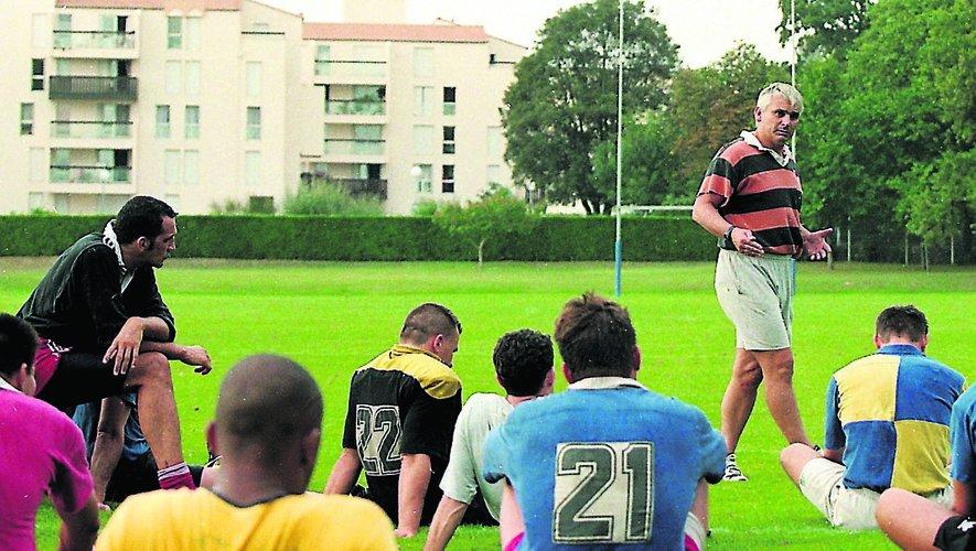 La Rochelle evoluait en groupe A2 déjà présidé par Vincent Merling et entraîné par Jean-Pierre Elissalde.