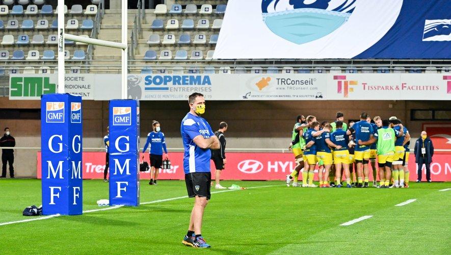 D'un côté l'histoire entre Clermont et Franck Azéma touche à sa fin d'un commun accord. De l'autre, les discussions entre l'ASM et le MHR ont tendance à se tendre ces dernières semaines. Photo Icon Sport