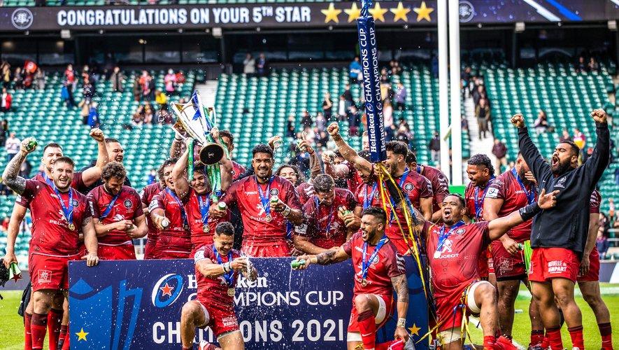 Le Stade toulousain s'est offert un cinquième titre européen, un nouveau record.