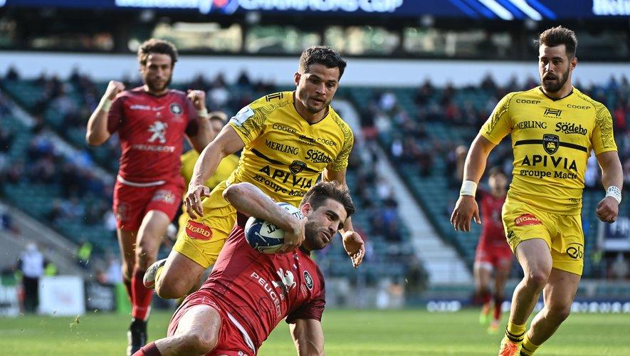 Juan Cruz Mallia, auteur d'un essai en finale de Champions Cup, fut décisif en cette fin de saison.