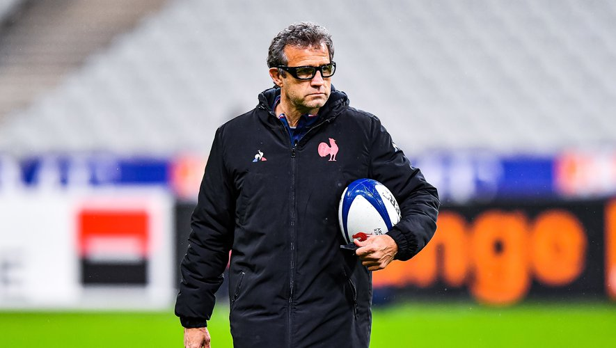 Fabien GALTHIE head coach of France ahead of the RBS Six Nations match between France and Scotland at Stade de France on March 26, 2021 in Paris, France. (Photo by Baptiste Fernandez/Icon Sport) - Fabien GALTHIE - Stade de France - Paris (France)