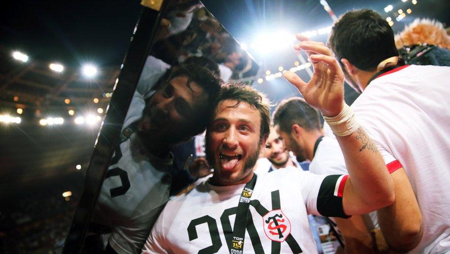 Maxime Médard porte le maillot du Stade toulousain depuis l'âge de 15 ans.