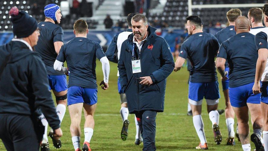 Philippe Boher, sélectionneur de l'équipe de France moins de 20 ans.