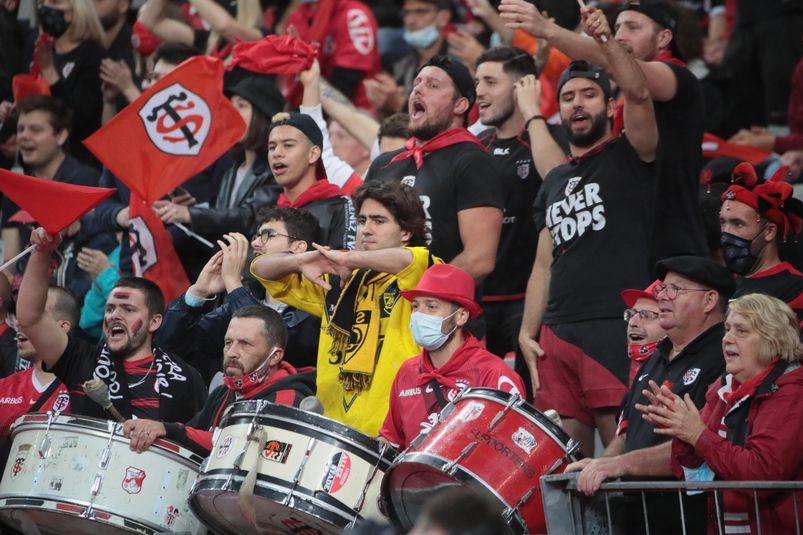 Les supporters des Rouge et Noir étaient très en forme !