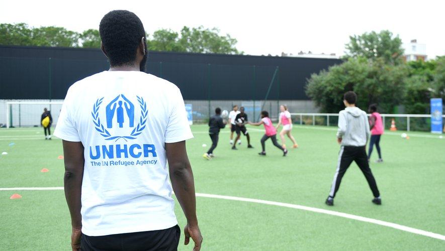 Près de 200 personnes, dont plusieurs dizaines de réfugiés, ont participé à une journée de rugby inclusif, le samedi 26 juin dernier.