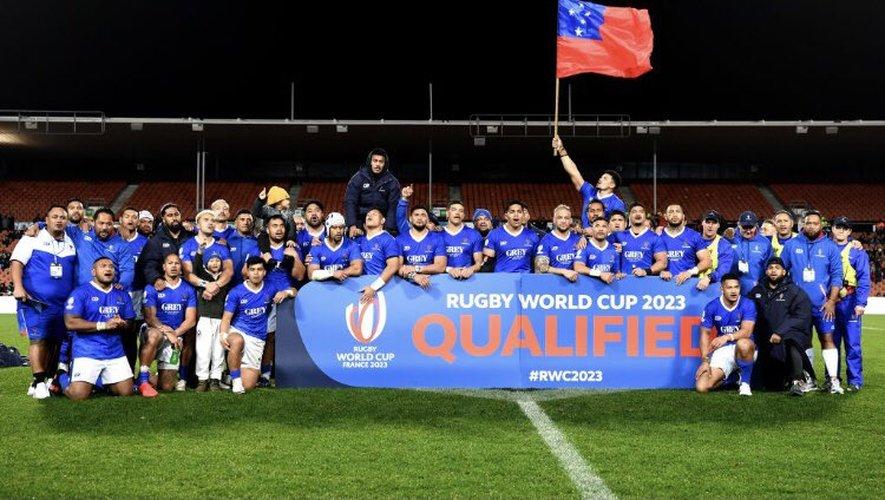 Nouvelle qualification en Coupe du monde pour les Samoa qui affronteront l'Angleterre, l'Argentine et le Japon.