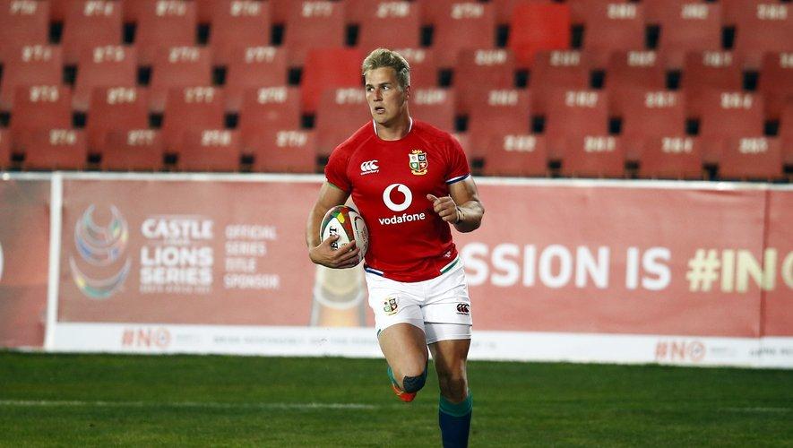 L'ailier des Lions britanniques Duhan van der Merwe a déjà inscrit 5 essais depuis le début des matches de préparation.