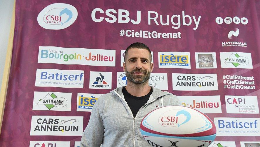L'ancien demi de dêmlée international Sébastien Tillous-Borde explique son ambition dans son nouveau rôle à Bourgoin.