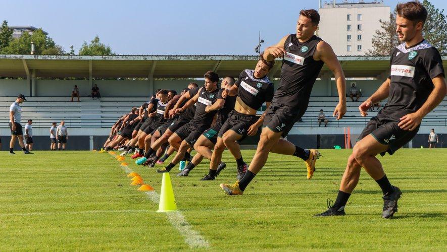 Les Palois ont repris le chemin de l'entraînement plein d'ambitions. Les Béarnais ne veulent pas revivre la même saison que la précédente. Photo Section Paloise Béarn Pyrénées