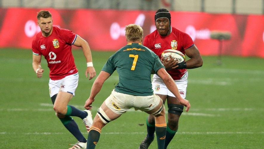 Le deuxième ligne anglais Maro Itoje a terminé homme du match du premier test face aux Springboks.