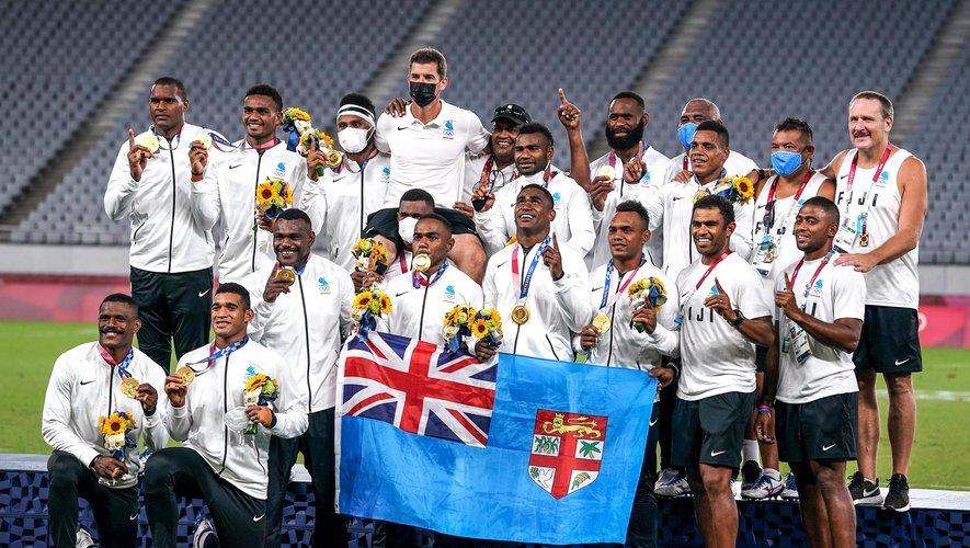 Les Fidjiens règnent  sur l'Olympe