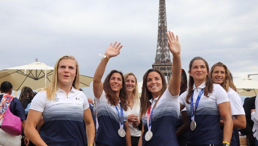 Après avoir décroché l'argent en finale du tournoi Olympique, les Bleues ont regagné l'Hexagone lundi dernier.