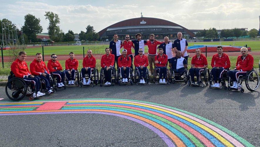 L'équipe de France de rugby fauteuil, avant son départ pour le Japon, a effectué deux stages de préparation, au Danemark et en Angleterre.