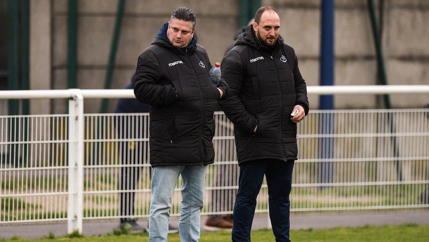 Mathieu Bonello (à droite), manager du SCA.