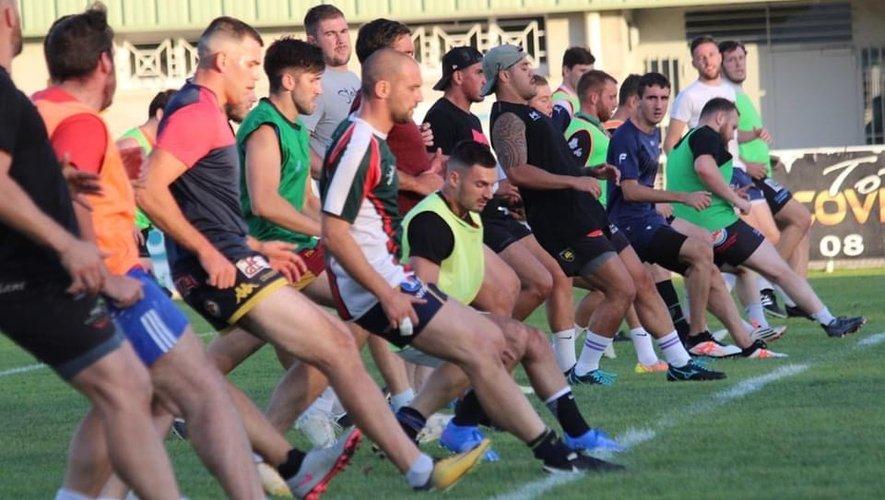 À hauteur de deux à trois entraînements hebdomadaires, les Anglois préparent une saison espérée ambitieuse.