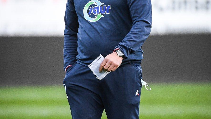 Le manager vannetais, Jean-Noël Spitzer espère voir ses joueurs signer leur premier succès de la saison en championnat ce vendredi.  Photo Icon Sport