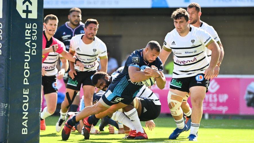 Avec la grave blessure de Guilhem Guirado, la performance majuscule de Jérémie Maurouard est une aubaine pour le MHR de Philippe Saint-André. Photo Icon Sport