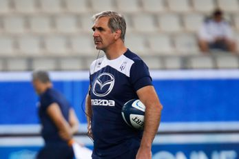 Regis SONNES manager of Agen during the Pro D2 match between Grenoble and Agen at Stade des Alpes on September 9, 2021 in Grenoble, France. (Photo by Romain Biard/Icon Sport) - Stade des Alpes - Grenoble (France)