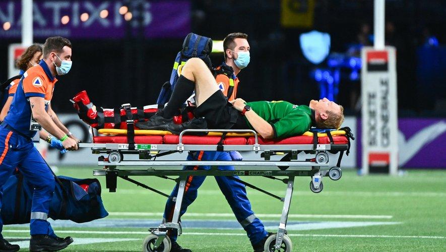 Tual Trainini, fauché en plein match, sera absent des terrains plusieurs mois...