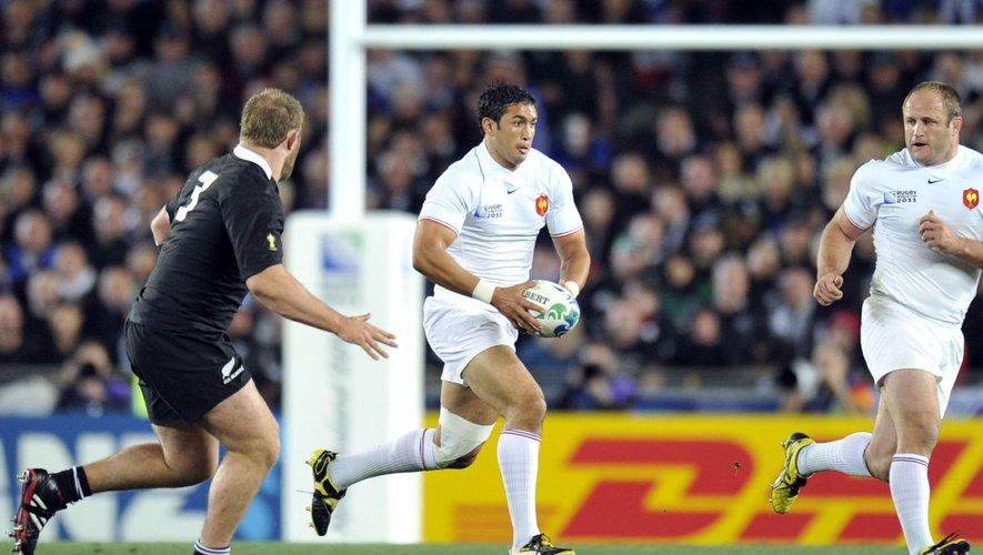 Maxime MERMOZ - 23.10.2011 - France / Nouvelle Zelande - Finale de la Coupe du Monde de Rugby 2011 - Auckland  -  (Angleterre)