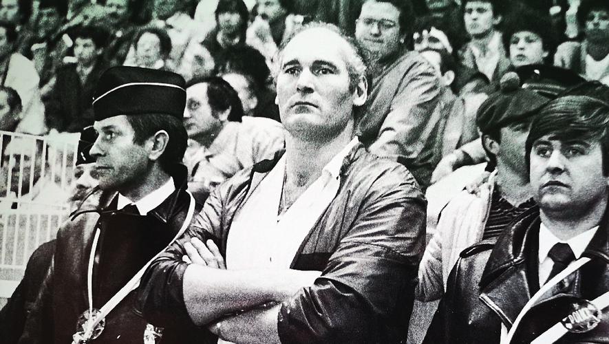 Alain Estève, qui fêtera 75 ans ce mercredi 15 septembre, est revenu à Sauclières, le stade des exploits du Grand Béziers.