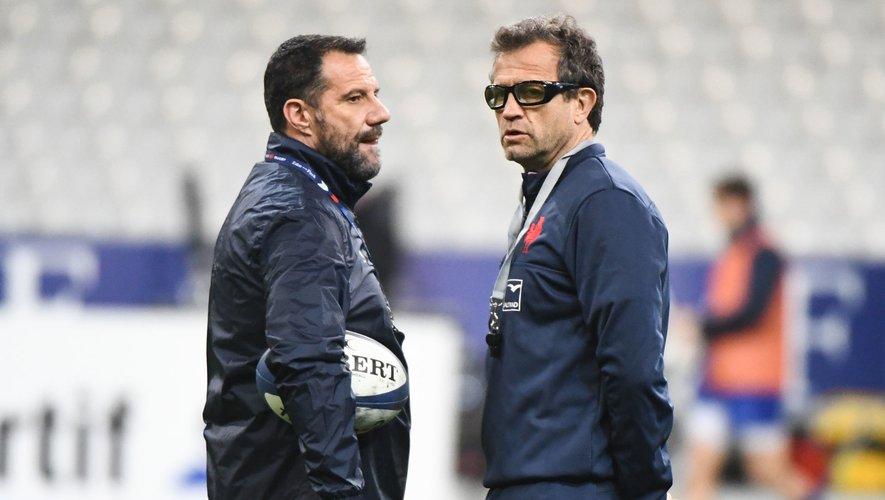 Laurent Labit et Fabien Galthié veulent collaborer le plus possible avec les clubs français.