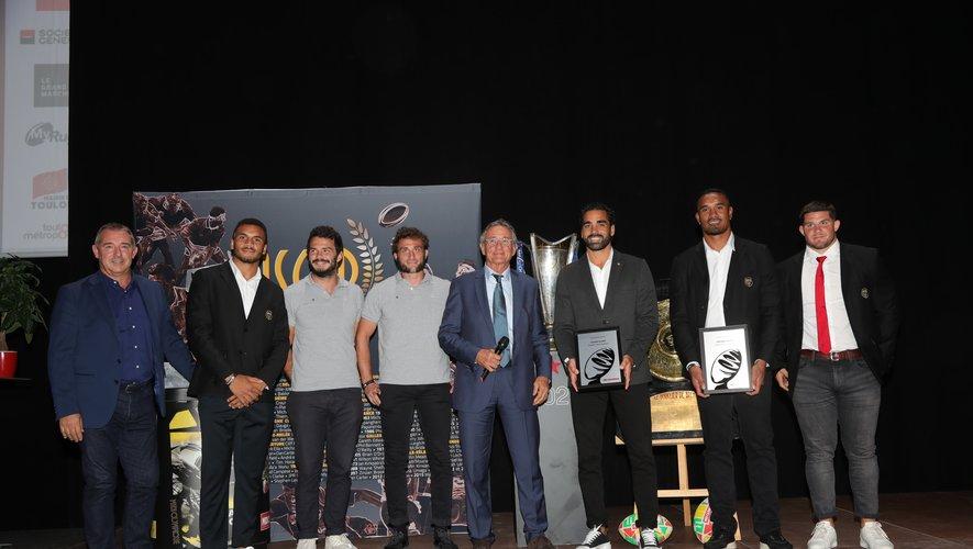 Le Stade toulousain a été mis à l'honneur tout au long de cette soirée des Oscars Midol !