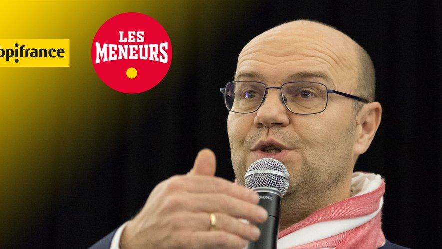 Julien Desbottes, président de la JL Bourg Basket