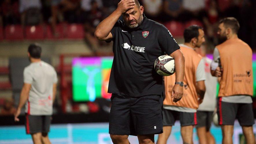 Patrice Collazo et les Toulonnais sont dos au mur en ce début de saison. Photo M.O. - D.P.