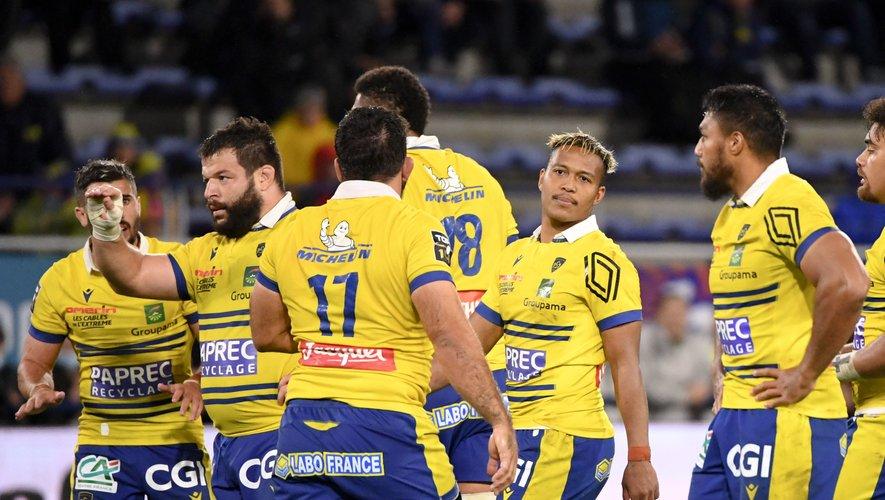 Rabat Slimani et l'équipe clermontoise.