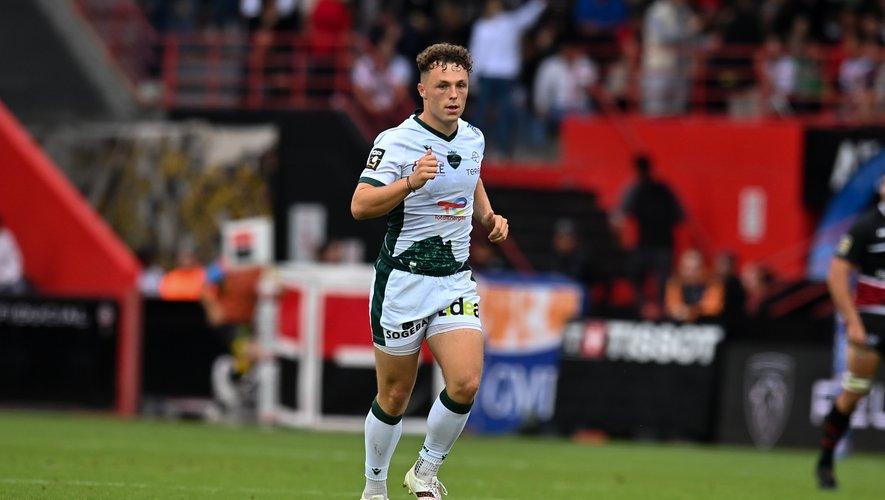 Le jeune Thibault Debaes a signé une interception gagnante face au Stade toulousain.