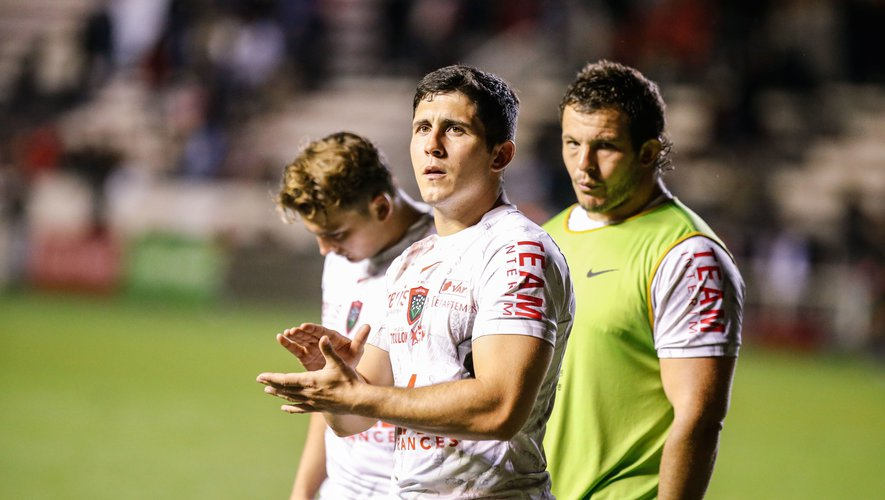 Anthony Belleau sera en fin de contrat en juin 2022 avec Toulon. Photo Icon Sport