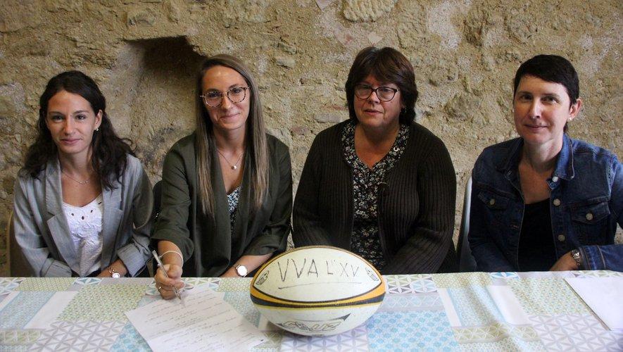 À l'Isle de Noé, le comité directeur est entièrement féminin.