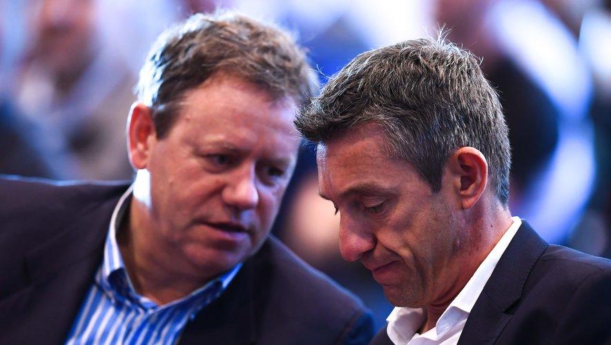 Simon Halliday, le président et Vincent Gaillard, le directeur général vont quitter l'EPCR.