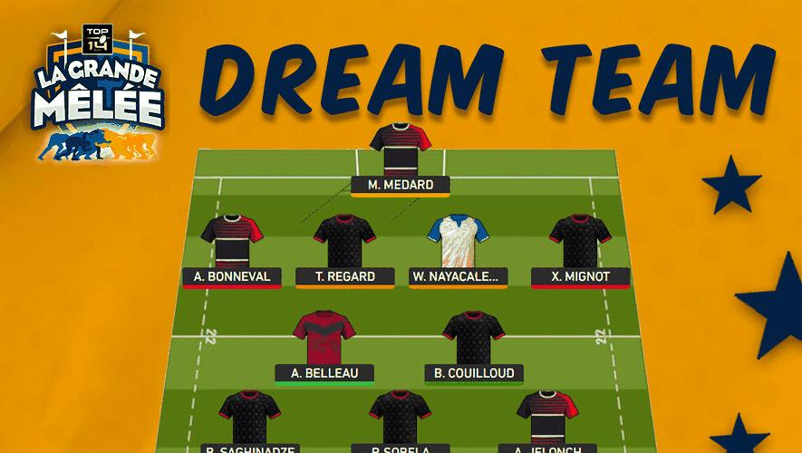 La Dream Team de la sixième journée de Top 14 La Grande Mêlée
